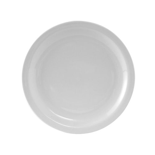 Colorado Narrow Rim Plate 7-1/2 Inch White, 3 Dz. Case