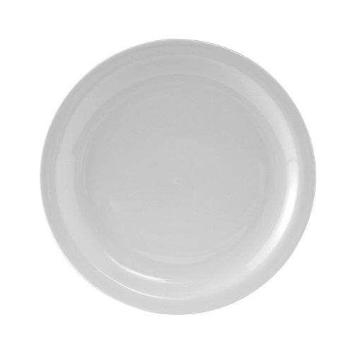 Colorado Narrow Rim Plate 8-1/4 Inch White, 3 Dz. Case
