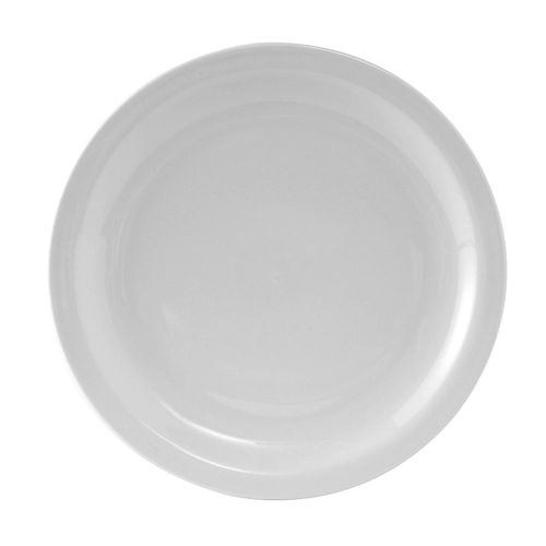 Colorado Narrow Rim Plate 9 Inch White, 2 Dz. Case