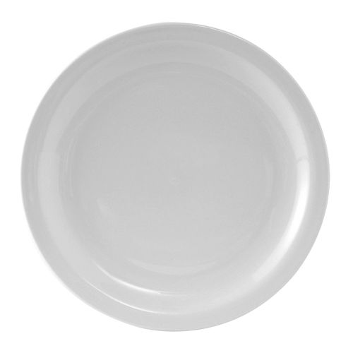 Colorado Narrow Rim Plate 9-1/2 Inch White, 2 Dz. Case