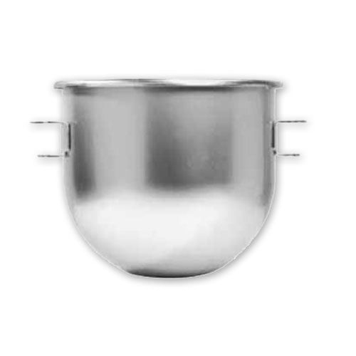 Mixing Bowl, 30 Quart, for Univex Mixer, Stainless Steel