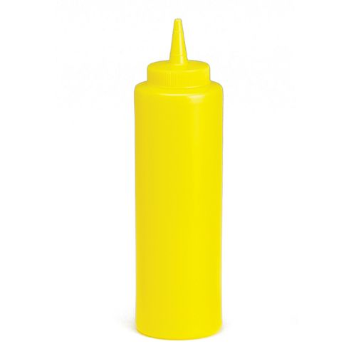 12 Oz Yellow Squeeze Bottle