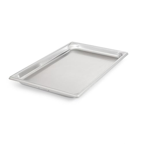 Full Size Stainless Steel Food Pan, 1-1/4 Inch Deep
