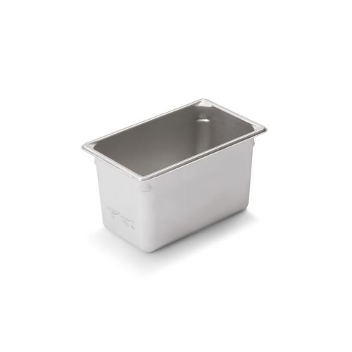Third Size Stainless Steel Food Pan, 6 Inch Deep