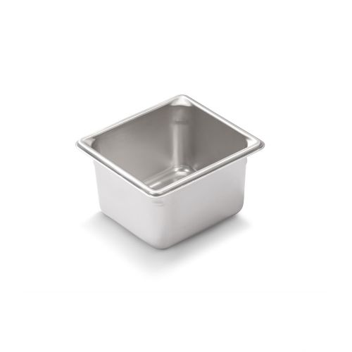 Sixth Size Stainless Steel Food Pan, 4 Inch Deep