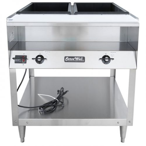 Steam Table, 2 Well, ServeWell Food Station, 120v