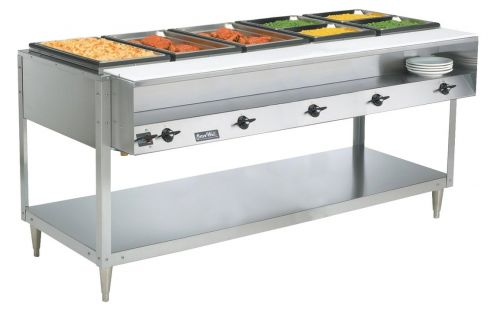 Steam Table, 5 Well, ServeWell Food Station, 120v