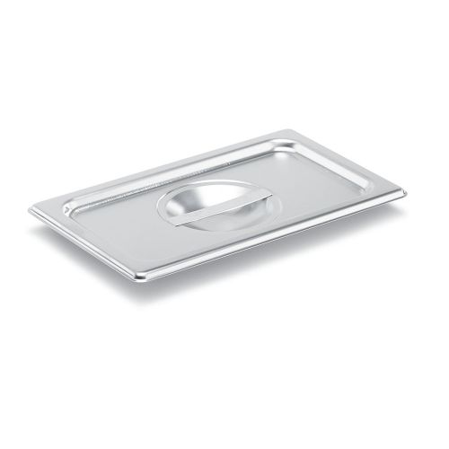 Third Size Stainless Steel Food Pan Cover, Solid