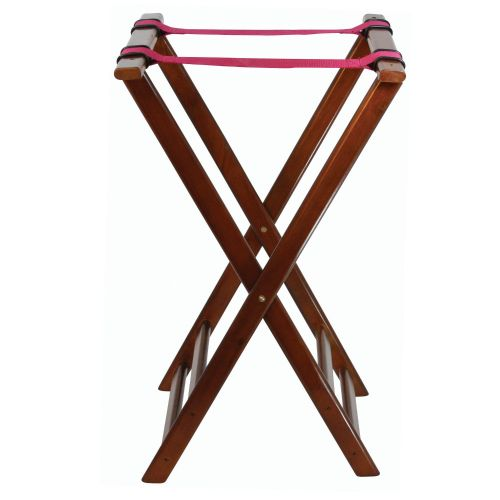 Serving Tray Stand - Walnut Rubberwood