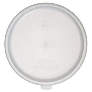 White Lid for 2 and 3 1/2 Quart Round Bain Marie