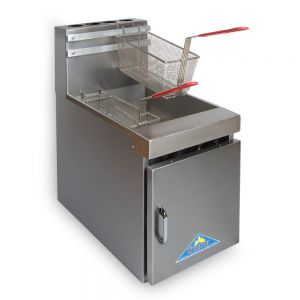 Fryer, Counter Model, Gas, 15 Inches