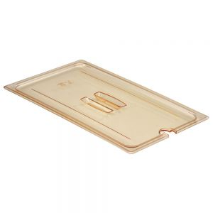 Cambro 10HPCHN150 Full Size H-Pan™ High Heat Notched Cover