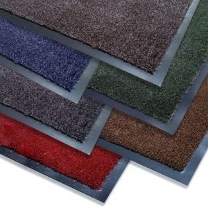 Carpet Mat, 3x5, Red Olefin Mat