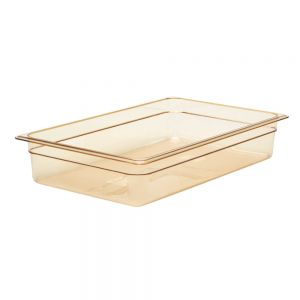 "Cambro 14HP150 Full Size H-Pan™ High Heat Food Pan 4"" Deep"