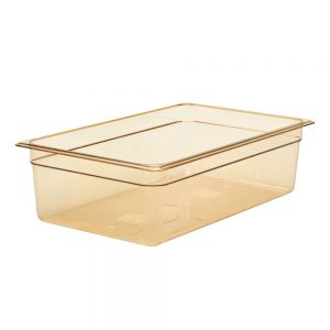 "Cambro 16HP150 Full Size H-Pan™ High Heat Food Pan 6"" Deep"