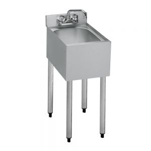 One Compartment Underbar Sink, 12 x 18-1/2, S/S