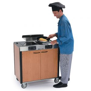 Creation Express Station Mobile Cooking Cart, 34 x 22 x 40-1/2 high