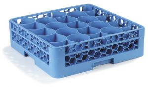 OptiClean Dishwasher Cup Rack, 20 Compartments
