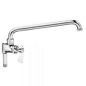 Add-On Faucet For Pre-Rinse with 12 Inch Spout