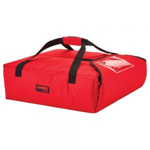 "Cambro GBP220521 GoBag™ Pizza Delivery Bag - 20-3/4"" x 21-3/4"" x 6-1/2"""