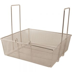 "Square Fry Basket - 16 3/4"" x 17 1/2"""