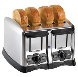 Commercial 4 Slot Light Duty Toaster - 1650W