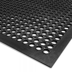 General Purpose Mat 3x5 Beveled Edge Black