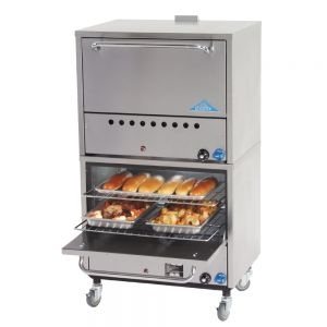 Bake Ovens, Gas, Double Stacked, 31-1/2 Inches