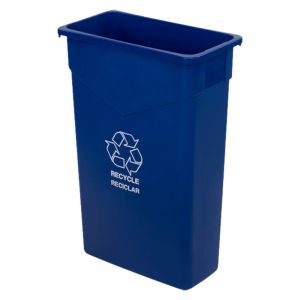 Carlisle 342023REC14 Trimline™ 23 Gallon Recycle / Waste Container