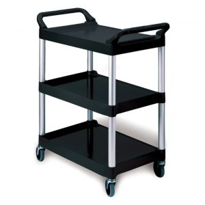 Utility Cart 200 Lb. Capacity, Black