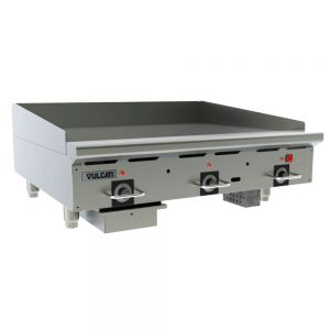 Heavy Duty Gas Griddle, 81,000 BTU, 36 Inch
