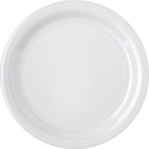 Bone Dinner Plate 9 Inch Melamine Durus Ware, Case of 24