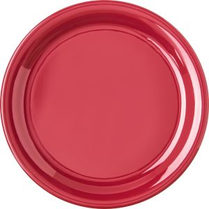 Roma Red Dinner Plate 9 Inch Melamine Durus Ware, Case of 24