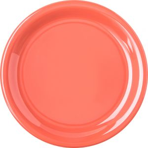 Sunset Orange Pie Plate 6-1/2 Inch Melamine Durus Ware, Case of 4 DZ