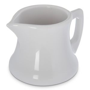 Sryup Pitcher, Creamer 3 Oz. White