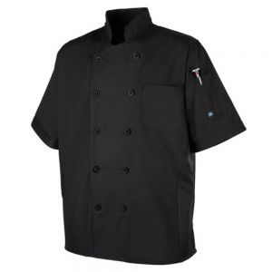 Black CookCool® Panel Chef Coat