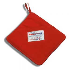 "Tucker Safety Products 58000 BurnGuard® Poly-Cotton Hot Pad with Pocket - 8"" x 8"""