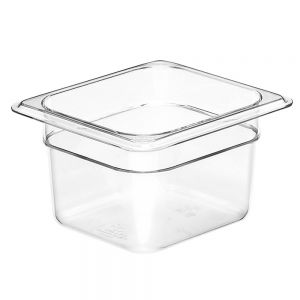 Camwear Sixth Size Food Pan, 6-3/8 x 6-15/16 x 4