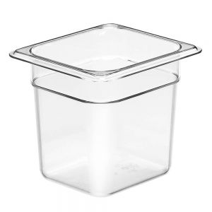 Camwear Sixth Size Food Pan, 6-3/8 x 6-15/16 x 6