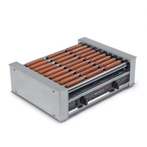 Hot Dog Grill, 10 Chrome Rollers, 36 Dogs Capacity