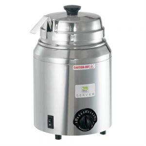 Server Products 82500 Topping Warmer with Ladle