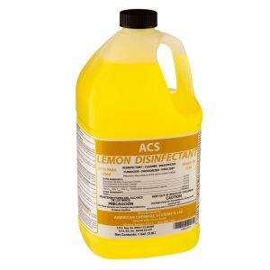 American Chemical Systems 14001410 Lemon Disinfectant - 1 Gal.