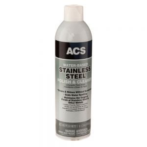 Stainless Steel Polish and Cleaner - 17.5 oz Aerosol Can