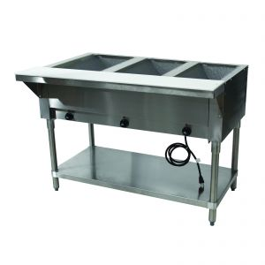 Hot Food Table - 3 Wells, 120V