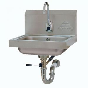 Hand Sink, Wall Model, 14 x 10 x 5 Bowl, Electronic Faucet