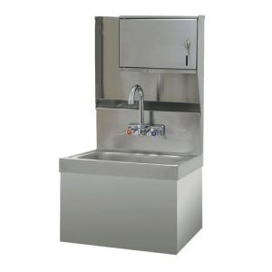 Hand Sink, Class 1 Upgrade, Security Unit, Wall Model, 14 x 10 x 5 Deep Bowl