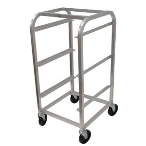 Bus Box Cart, 3 Tier, 20-3/8 x 19 x 40-7/8