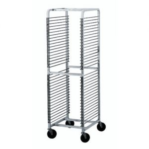 Front Loading Wire Pan Rack, Holds 36 Full Size Pans