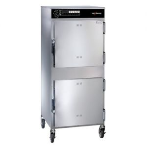 Slo Cook Hold and Smoker Oven, Double Deck, 100 lb Capacity, Electric Control