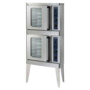 Half Size Convection Oven with Electronic Control, Stacked, Electric